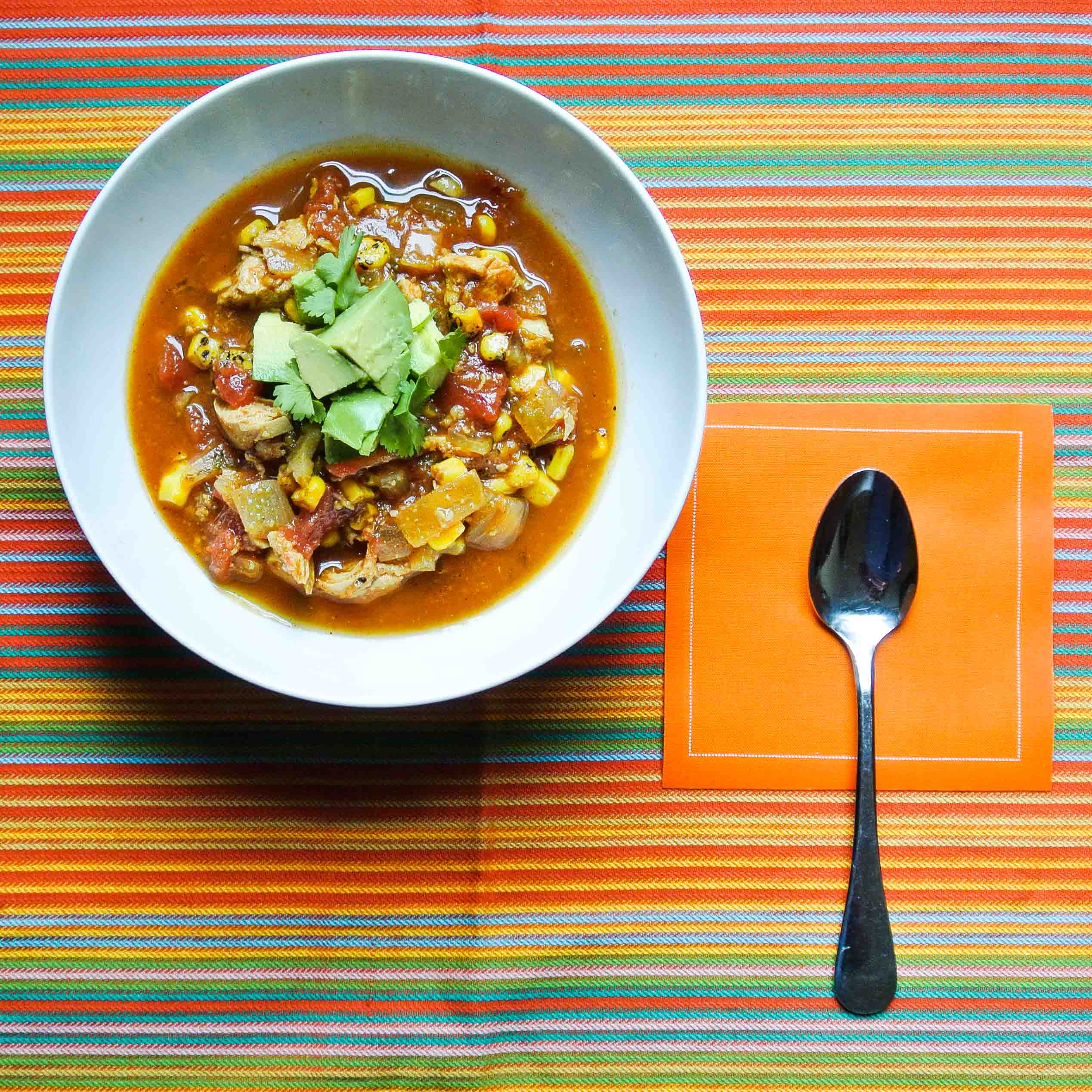 Chicken Tortilla Soup-4