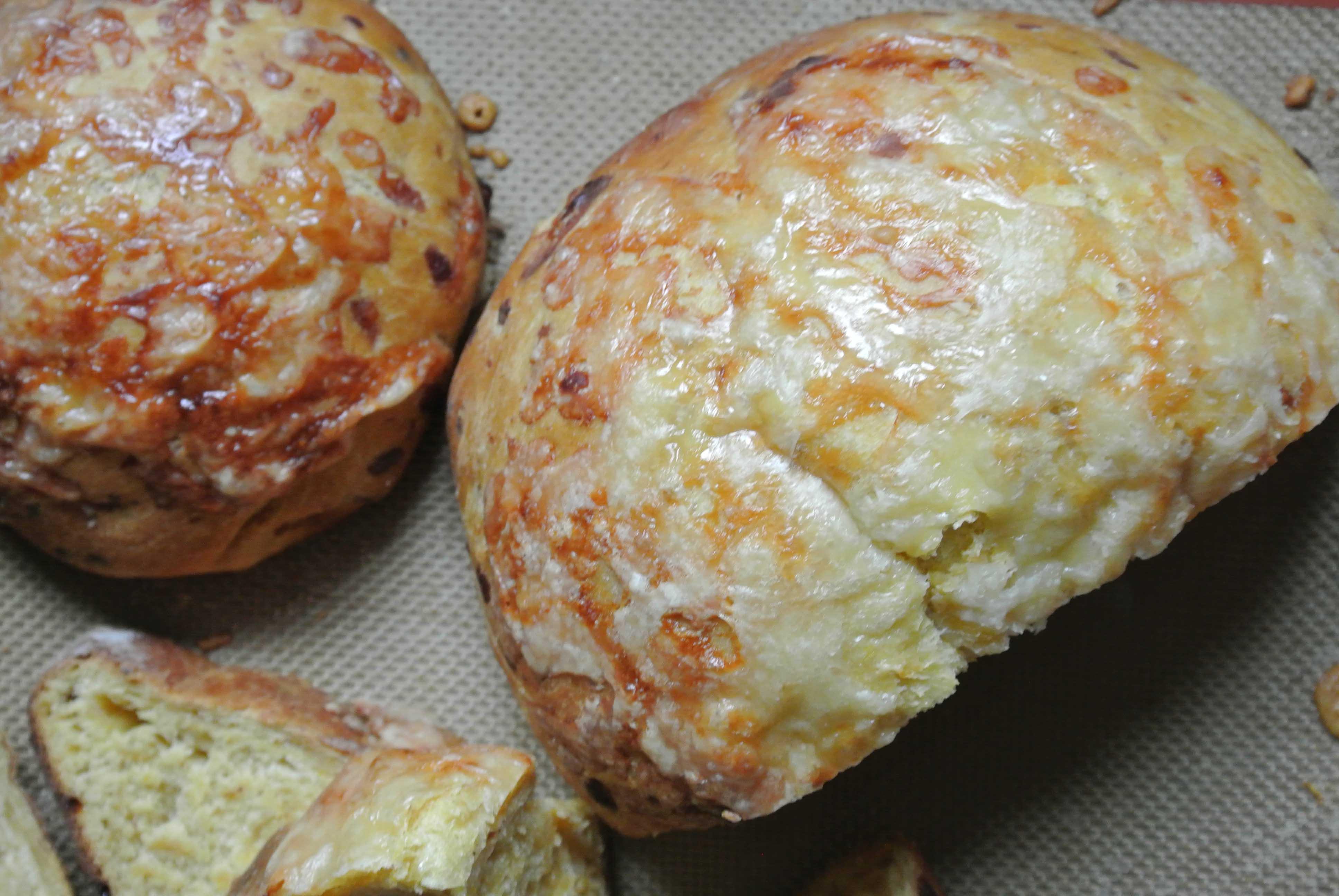 Pumpkin Gruyere Focaccia-1