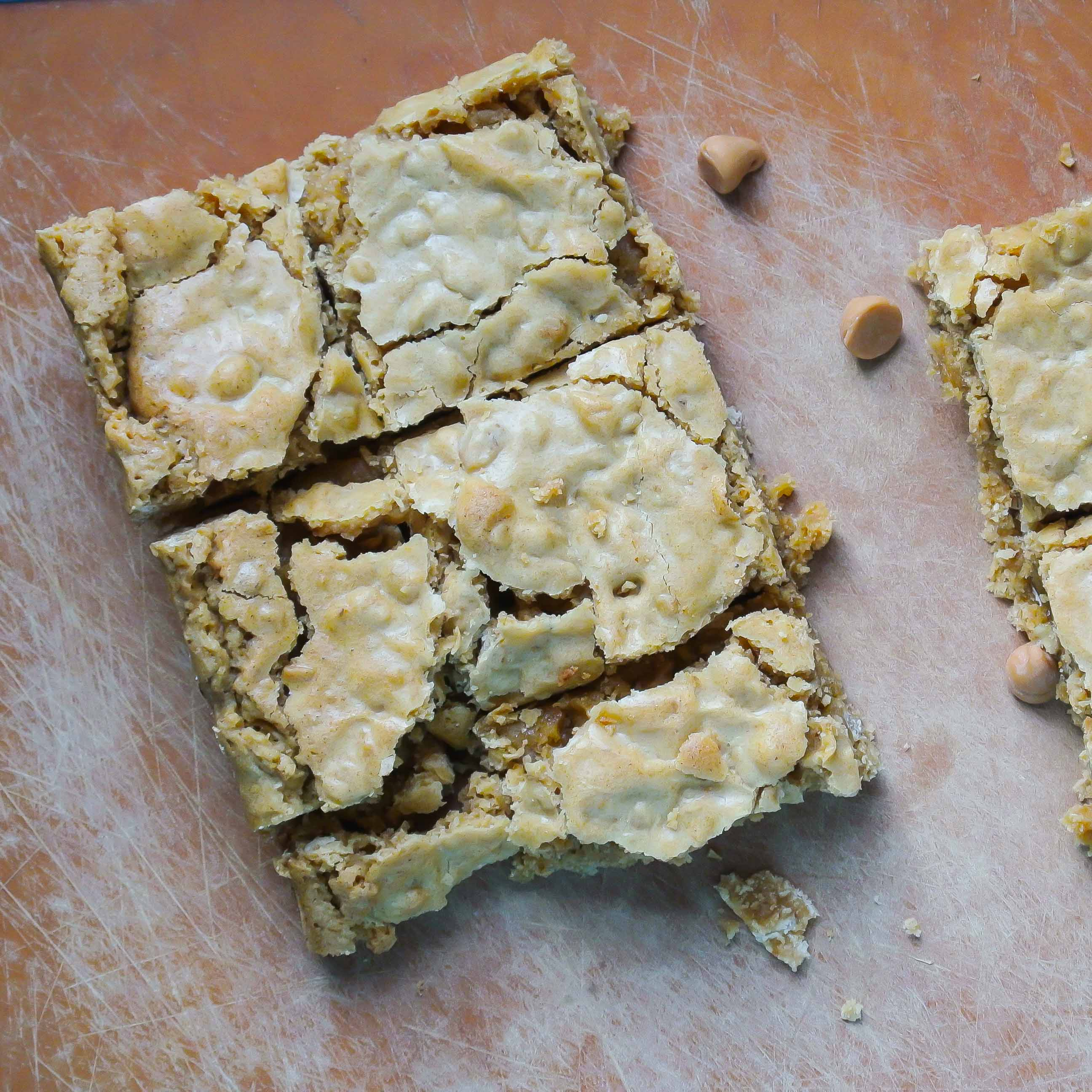 Butterscotch Granola Blondies-5